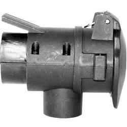 Adaptér na zapojenie prívesu TFA Stecker 88009, [7 pólová zásuvka - ], 12 V, plast