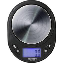 Vrecková váha VOLTCRAFT Rozlíšenie 0.1 g, čierna