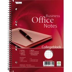 Image of Collegeblock 111108202 DIN A5 kariert mit Rand Anzahl der Blätter: 80