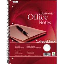 Image of Collegeblock 111106702 DIN A4 kariert mit Rand Anzahl der Blätter: 80