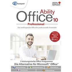 Image of Avanquest Ability Office 10 Professional Vollversion, 1 Lizenz Windows Office-Paket
