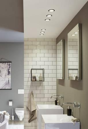 LED-Einbaustrahler fürs Badezimmer