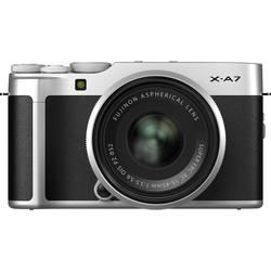 Systémový fotoaparát Fujifilm X-A7, 24.2 Megapixel, čierna, strieborná