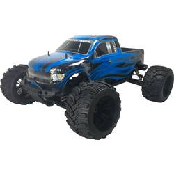 RC model auta monster truck Amewi Thunderstorm, bezkefkový, 1:6, 4WD (4x4), ARR