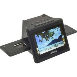 Skener negativů digitalizace bez PC, displej, se zásuvkou pro paměťová média, TV výstup, Reflecta N/A