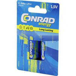 Image of Conrad energy LR14 Baby (C)-Batterie Alkali-Mangan 7500 mAh 1.5 V 2 St.