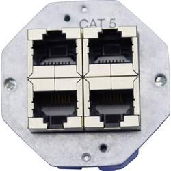 Sieťová zásuvka zabudovateľný KOMOS 0.1602-52, CAT 5