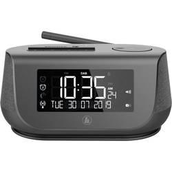 DAB+ stolné rádio Hama DR36SBT, AUX, Bluetooth, DAB+, USB, čierna