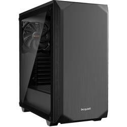 PC skrinka, herné puzdro midi tower BeQuiet Pure Base 500 Windows, čierna