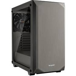 PC skrinka, herné puzdro midi tower BeQuiet Pure Base 500 Windows, metalická, sivá