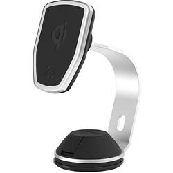 Bezdrôtová indukčná nabíjačka Scosche MPQ2OH-XTSP5, Qi štandard, čierna, strieborná