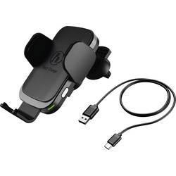 Bezdrôtová indukčná nabíjačka Hama 00188300, Qi štandard, čierna