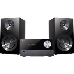 Stereo systém LG Electronics CM2460DAB, Bluetooth, CD, USB, DAB+, čierna