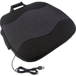 Vyhrievaný poťah na sedadlo Profi Power USB 2970011, 5 V, čierna, tmavosivá