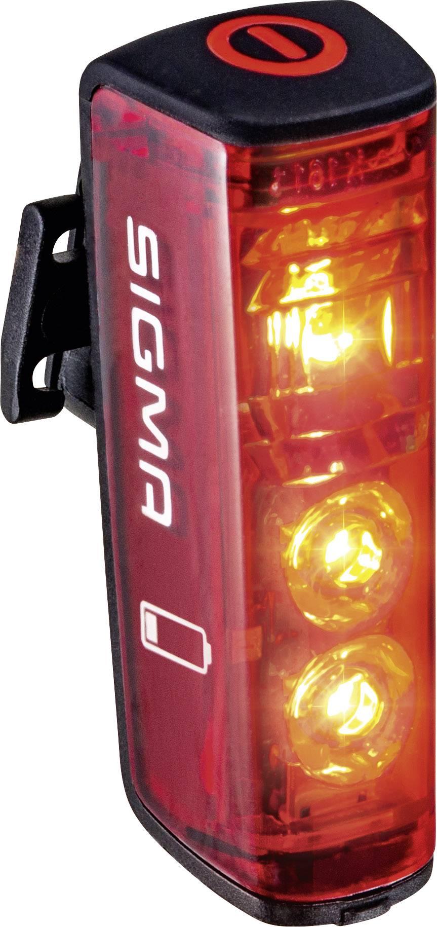 Sigma Fahrrad Scheinwerfer AURA 40 FL akkubetrieben Schwarz
