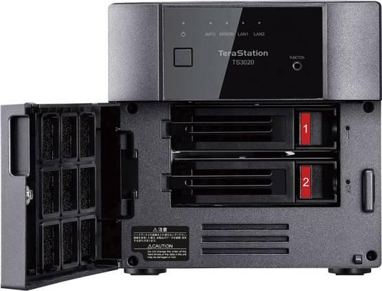 TeraStation NAS-Server-Gehäuse 2 Bay