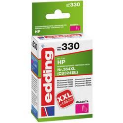 Kompatibilná náplň do tlačiarne Edding EDD-330 HP 364XL 18-330, purpurová