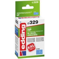 Kompatibilná náplň do tlačiarne Edding EDD-329 HP 364XL 18-329, zelenomodrá