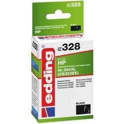 Kompatibilná náplň do tlačiarne Edding EDD-328 HP 364XL 18-328, foto čierna