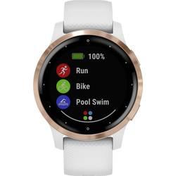 Smart hodinky Garmin vivoactive 4 Small White/Rosegold