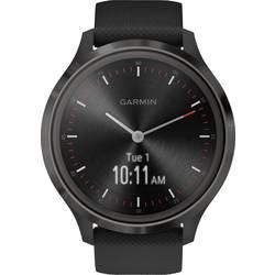Smart hodinky Garmin vivomove 3 Sport Black-Gunmetal, Silicone