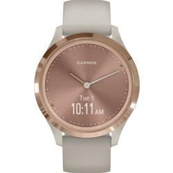 Smart hodinky Garmin vivomove 3S Sport Rose-Tundra, Silicone
