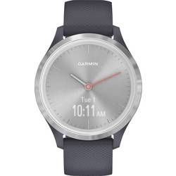 Smart hodinky Garmin vivomove 3S Sport Silver-Blue, Silicone