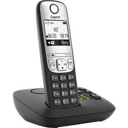 Image of Gigaset A690A DECT Schnurloses Telefon analog Freisprechen, mit Basis, Wahlwiederholung Schwarz