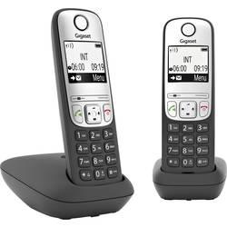 Image of Gigaset A690 Duo DECT Schnurloses Telefon analog Freisprechen, mit Basis, Wahlwiederholung Schwarz
