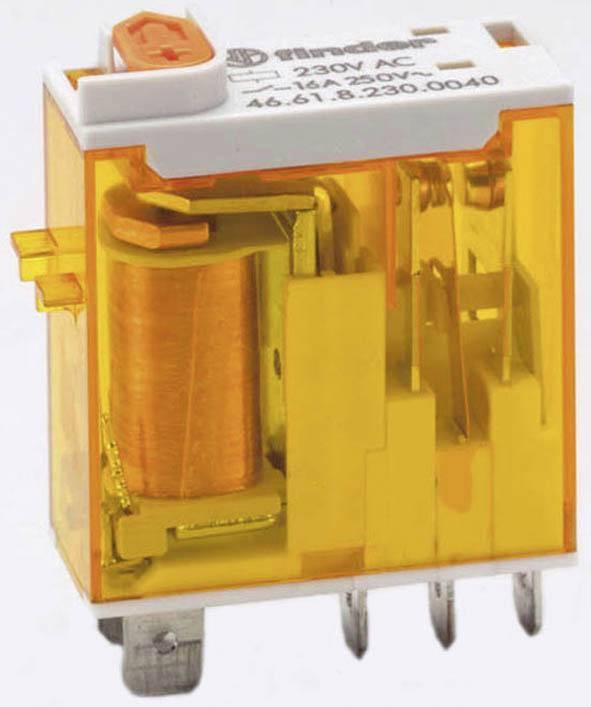 4C Finder Steck Print Relais 230V AC 2xUM 8A 46.52.8.230.0040