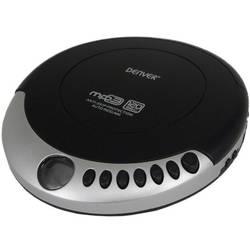 Prenosný CD prehrávač - diskman Denver DMP-340, CD, CD-R, CD-RW, MP3, čierna/strieborná