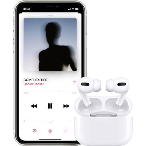 Mit Apple AirPods Pro Musik hören