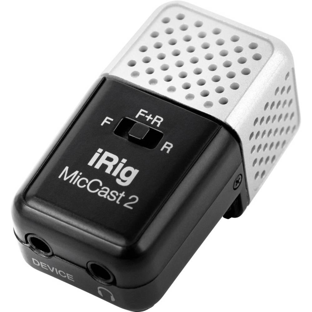 IK Multimedia iRig Mic Cast 2 voice recorder microfoon