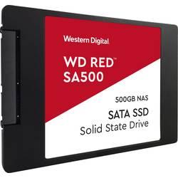 """Interný SSD pevný disk 6,35 cm (2,5 """") Western Digital WD Red™ SA500 WDS500G1R0A, 500 GB, Retail, SATA 6 Gb / s"""