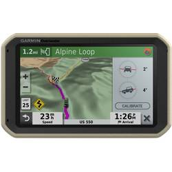 Navigácie All-Terrain Garmin Overlander;17.8 cm 7 palca, jižní Afrika, severní Afrika, blízký východ, pro Evropu, topografické mapy ke stažení