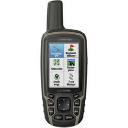 Outdoorová navigácia kolo, geocaching, turistika Garmin GPSMAP 64x svět, GLONASS, GPS, chránené proti striekajúcej vode