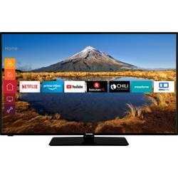 Telefunken D43U446A LED TV 108 cm 43 palca en.trieda A + (A +++ - D) DVB-T2, DVB-C, DVB-S, UHD, Smart TV, WLAN, CI+ čierna