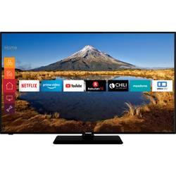 Telefunken D58U446A LED TV 146 cm 58 palca en.trieda A ++ (A +++ - D) DVB-T2, DVB-C, DVB-S, UHD, Smart TV, WLAN, CI+ čierna
