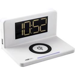 Bezdrôtová indukčná nabíjačka Caliber Audio Technology HCG018Qi/W, Qi štandard, USB , biela
