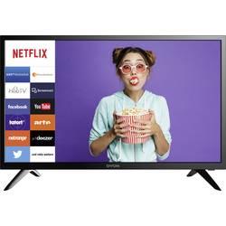 Image of Dyon Smart 24 LED-TV 60 cm 23.6 Zoll EEK A+ (A++ - E) DVB-T2, DVB-C, DVB-S, HD ready, Smart TV, WLAN, CI+ Schwarz