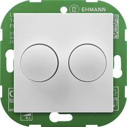 Image of Ehmann 4295x0700 Drehdimmer Geeignet für Leuchtmittel: LED-Lampe, Glühlampe, Halogenlampe Weiß (RAL 9016)
