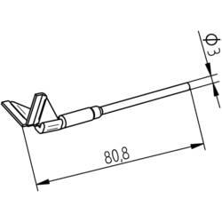 Odspájkovací hrot Ersa 17.50 mm, 1 ks