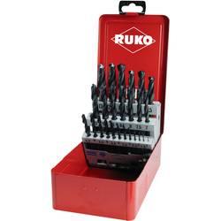 Sada špirálových vrtákov do kovu RUKO 205213, N/A, HSS-R, 1 ks