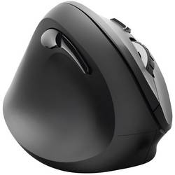 Optická ergonomická myš Hama EMW-500L 182697, ergonomická, čierna