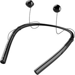 Bluetooth športové náhlavná sada Ear Free Stereo Tie Studio TQ14 19-90049, čierna