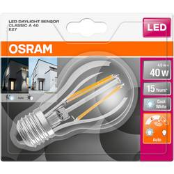 LED žiarovka OSRAM 4058075162259 230, E27, 4 W, chladná biela, A + (A ++ - E), tvar žiarovky, 1 ks