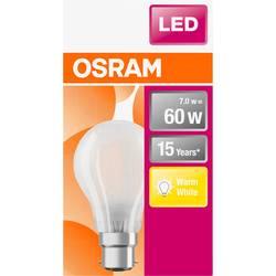 LED žiarovka OSRAM 4058075114920 230, B22d, 7 W, teplá biela, A ++ (A ++ - E), tvar žiarovky, 1 ks