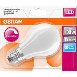 LED žiarovka OSRAM 4058075289109 230, E27, 12 W, chladná biela, A ++ (A ++ - E), tvar žiarovky, 1 ks
