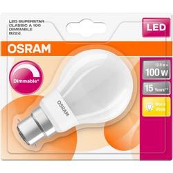 LED žiarovka OSRAM 4058075289062 230, B22d, 12 W, teplá biela, A ++ (A ++ - E), tvar žiarovky, 1 ks