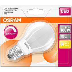 LED žiarovka OSRAM 4058075289000 230, E27, 12 W, teplá biela, A ++ (A ++ - E), tvar žiarovky, 1 ks